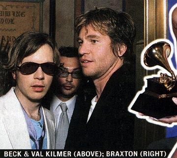 Beck and Val Kilmer