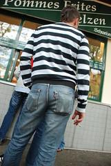 DSC_0536 (PiotrLevis) Tags: diesel ripped jeans denim levis rippedjeans bulge 501s guysinjeans trashedjeans levis501 meninjeans denimbutt guysindenim guysbulge denimbulge