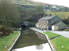 Standedge Tunnel Marsden Huddersfield Narrow Canal Yorkshire (woodytyke) Tags: uk trip bridge england west reflection english heritage history electric photography boat canal photo cafe workers britain gates yorkshire centre hill north railway kingdom tunnel riding end boating restoration british portal passenger moor visitor narrow barge isles navigation narrowboat module huddersfield waterways marsden hnc standedge vsitor cttage woodytyke moorlandtowpath