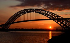 Last Sunset of 2011 (McDuck17) Tags: bridge sunset sky sun reflection bayonne autofocus bayonnebridge colorphotoaward dragondaggerphoto dragondaggeraward heavenlycaptures mygearandme mygearandmepremium mygearandmebronze mygearandmesilver mygearandmegold mygearandmeplatinum mygearandmediamond onlythebestofnature ringexcellence dblringexcellence tplringexcellence eltringexcellence