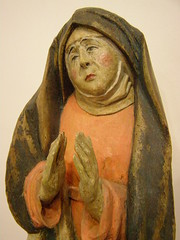 Mary from the Calvary group, Bardejov, 1500-1520 (DeBeer) Tags: art museum carved mary carving medieval unesco slovensko slovakia artmuseum virginmary middleages 1500 woodcarving calvary woodenstatue saris woodensculpture 16thcentury drapery 1500s ourlady 15thcentury 1520 1510 medievalart polychromy lategothic bardejov 1480s 1490 1510s gothicart holyvirgin 1480 medievalsculpture late15thcentury ari polychromed gothicsculpture northernrenaissance 16thcenturyart gothicstatue early16thcentury lategothicart medievalstatue 15thcenturyart slovakart slovakgothicart lategothicsculpture lategothicstatue slovaksculpture 15thcenturystatue 15thcenturysculpture 16thcenturysculpture 16thcenturystatue arimuseum