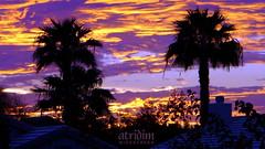 Rare Sunset Phenomenon lights the Arizona Sky on Fire (atridim) Tags: photo flickr widescreen 169 skyonfire valleyofthesun arizonasunset captainrick 16x9widescreen virtualjourney atridim raresunsetphenomenon