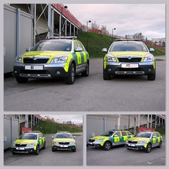 New Skoda again.. (Mike-Lee) Tags: 4x4 picasa automatic paramedic skoda yas triptychs paddleshift rrv frv ollage skodascout dec2011 newskoda