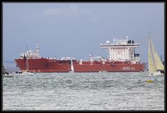 Hanne Knutsen (leightonian) Tags: uk island boat ship unitedkingdom isleofwight solent gb isle cowes tanker wight iow