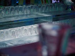 Glasses (katrin glaesmann) Tags: winter cold ice bar glasses december hamburg exhibition eis ausstellung icecarving eisskulpturen glser deichtorhallen 2011 icecarver 8c