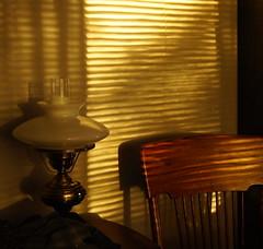 Afternoon light through the blinds (Artframegirl) Tags: light afternoon blinds