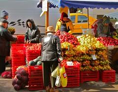 Tulcea Market, Dobrogea, Romania
