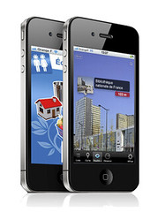 Application co-citoyens de lADEME sur iPhone (i-Marginal) Tags: app iphone ademe imarginal ecocitoyen appim appsim