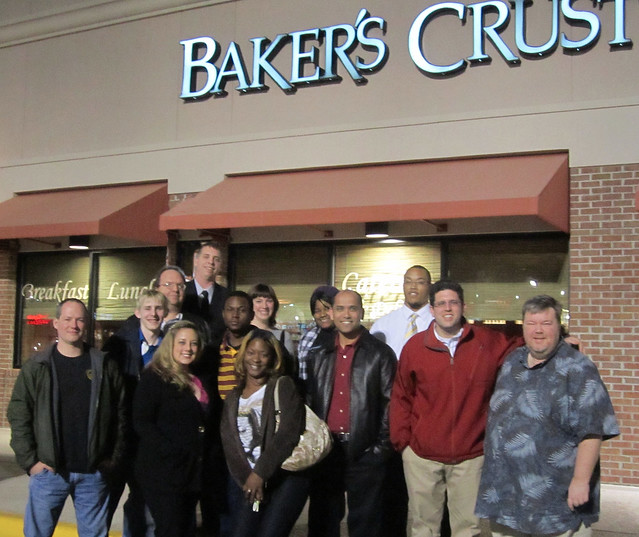 CIV Student Diners Club: Bakers Crust, 10 January 2012