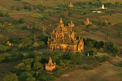 Bagan in the Morning, Myanmar_HXT1492 (ohmytrip) Tags: morning sky sunlight mountain tree history horizontal fog architecture sunrise outdoors temple photography pagoda ancient shrine day religion tranquility buddhism nopeople tourist spire valley remote myanmar ancientcivilization bagan distant placeofworship traveldestinations colorimage beautyinnature nonurbanscene horizonoverland builtstructure incidentalpeople traditionallymyanmarian