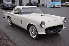 """1957 Ford Thunderbird E Code Dual Quad 312 • <a style=""""font-size:0.8em;"""" href=""""http://www.flickr.com/photos/85572005@N00/6703753659/"""" target=""""_blank"""">View on Flickr</a>"""