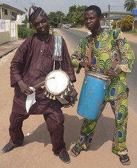 Drummers (Barefoot In Florida) Tags: nigeria drummers abeokuta