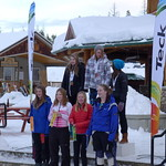 January 2012 Teck Kinder Races hosted by Kimberley North Star Racers - Sunday K2 Girls SL
