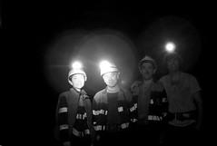(Darys) Tags: bw dark mine autoportrait autoretrato asturias mina carbon coal mieres surveyor miners minero oscuro 6thfloor topography topografia hunosa mineros nicolasa pozosannicolas 6planta