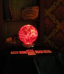 Close-up of the crystal ball (weebruins) Tags: miniature tarot 112 fortuneteller dollhouse crystalball ouija dollshouse tasseography tealeaves roombox oneinchscale 112scale maisondepoupes 112thscale dollhouseminiature ceromancy tealeavesreading scaledollhouseminiature scaleminiature teammids weebruins fortunetellersroom candlewaxreading waxreading