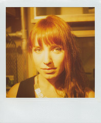bex finch (OuroborosX) Tags: portrait film polaroid sx70 600 instant expired