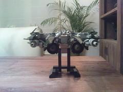 Lego Starfighter (Jeroen_K) Tags: star lego vic spaceship fi wars custom viper sci speeder starfighter