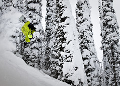 kathrynhayesIMG__12 (four06productions) Tags: winter people cliff snow sports snowboarding montana skiing action drop powder pillow flip kathryn backcountry hayes backcountryskiing kathrynhayesphoto