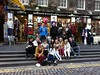 Higher Modern Studies class on the Royal Mile