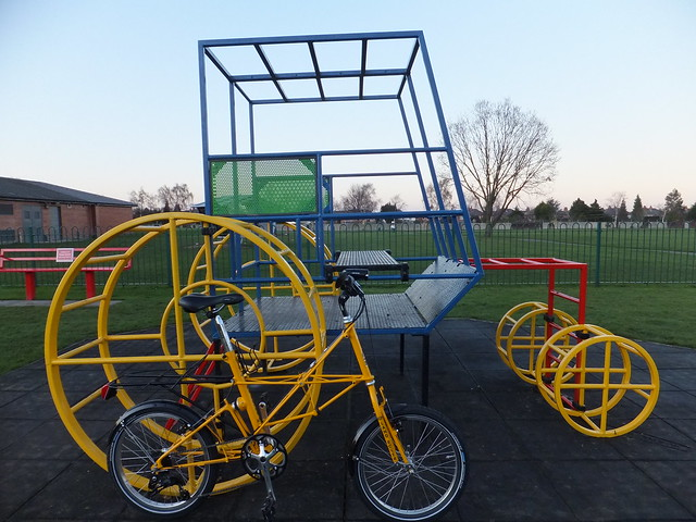 Spaceframe bicycle & tractor