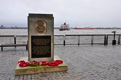 Memorial (manicuredcorpse) Tags: uk england liverpool memorial ships merseyside merchantnavy rivermersey liverpoolbay mvroyalirisofthemersey