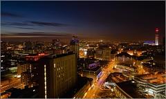 Birmingham City UK Nightscape 1 (Stephen Piggott Photography) Tags: longexposure birmingham nightime citycentre birminghamuk micarttttworldphotographyawards micartttt stephenpiggottphotography michaelchee