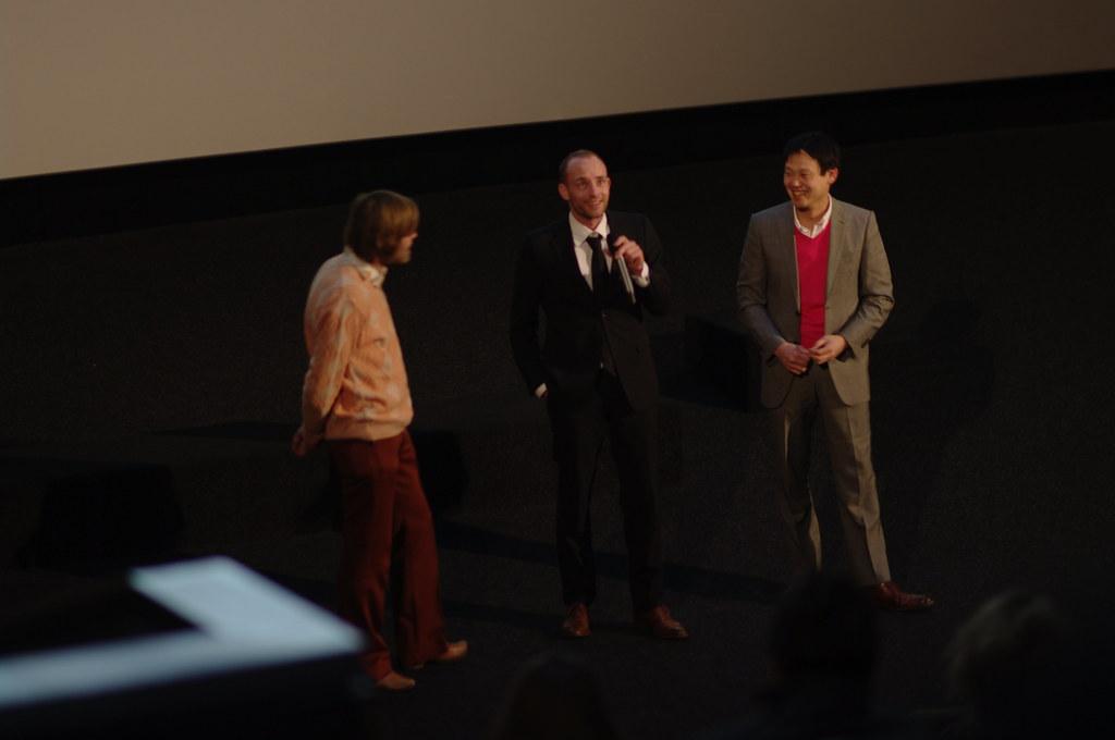 """#IFFR 2012: actor Merijn de Jong and director Fow Pyng Hu of """"Nick"""""""