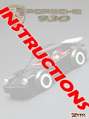 Porsche 930 Instructions (ZetoVince) Tags: car greek lego 911 vince turbo porsche vehicle instructions minifig supercar 930 blackrims zeto zetovince dreamdealer