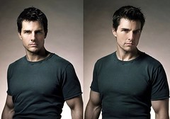Tom Cruise (Barney223) Tags: portrait man hot cute sexy feet face photoshoot arms legs body muscular chest young handsome tshirt jeans tomcruise short actor height fit 57 younger