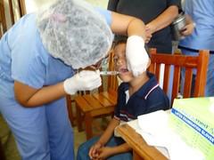 Unan Leon 2012 Dental Care Brigade to Pearl Lagoon 8 (FADCANIC) Tags: nicaragua williamscollege lagunadeperlas saih unanlen fadcanic pearllagoonacademyofexcellence indigenousandafrodescendents
