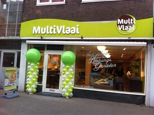 Ballonpilaar Breed Multivlaai Rotterdam