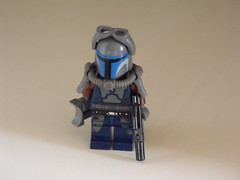 Swtor- Bounty Hunter (Legonardo Da Bricki) Tags: old star republic lego da hunter wars bounty bricki swtor legonardo