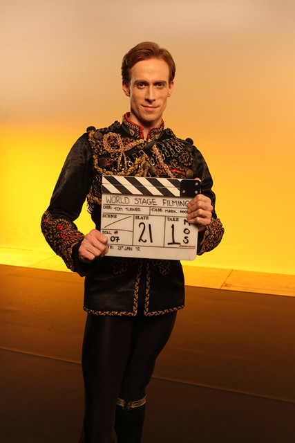 "Edward Watson on the set of the Spring 2012 World Stage shoot. <a href=""http://www.roh.org.uk"" rel=""nofollow"">www.roh.org.uk</a> Photo: Ruairi Watson"