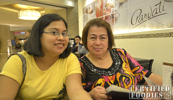 My BFF Tina and our nanay at Parvati