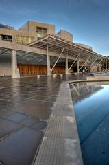 Scottish Parliament (Esther Seijmonsbergen) Tags: city uk building architecture modern design scotland edinburgh europe government eco hdr scottishparliament 5xp estherseijmonsbergen wwwdigitalexposurephotographynl