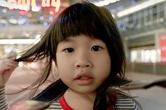 Big City (violin6918) Tags: family portrait baby cute girl angel children kid pretty child princess sony daughter hsinchu taiwan sigma shoppingmall lovely bigcity vina nex littlebaby 5r violin6918  sigma19mmf28dn sonynex5r