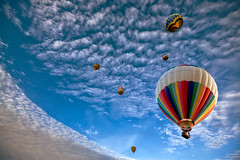 They're all up (yui fan) Tags: new blue sky people hot sport festival balloons flying high play air balloon hamilton zealand 500px ifttt