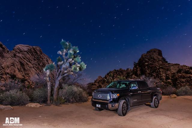 ca longexposure night stars landscape photography landscapes joshuatree limited startrails trd 2014 toyotatundra attitudeblack