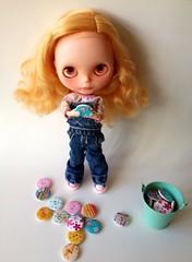 Custom basaak doll