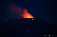 ETNA - NEC in strobolian activity... (Alessandro Lo Piccolo Hollweger) Tags: flow volcano lava sicily activity bomb etna eruption nec strombolian