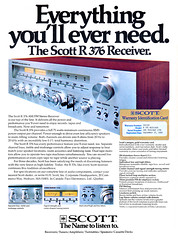 Scott R376 receiver (Al Q) Tags: scott stereo receiver r376