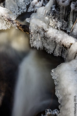 Melting down (MaxGag) Tags: longexposure winter snow ice water river is melting over fake printing waterstream 10x15 500px
