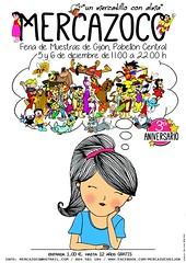Mercazoco Diciembre Gijón Feria de Muestras 3 Aniversario portada