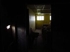 IMG_6898 (NapoleonIsNotDead) Tags: light shadow abandoned yellow dark weird iceland colours shine gloomy farm creepy feelings obscure selfoss