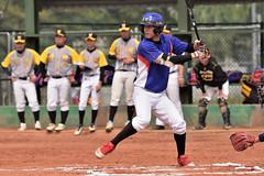 DSC_5026 (Manjhou) Tags: up sport set nikon baseball sigma kaohsiung pitcher position batter 70200mm   pickoff   tainwan         d7200