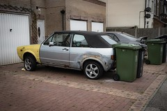 Classic in Waiting (Number Johnny 5) Tags: urban car vw golf volkswagen nikon decay great convertible d750 gti yarmouth tamron derelict gorleston 2470mm grot barnfind