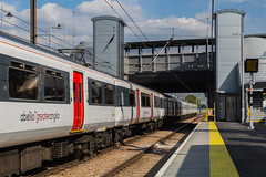 Abellio Greater Anglia - Lea Bridge (MoreToJack) Tags: greateranglia platform leabridge london brel train abelliogreateranglia britishrailengineeringlimited abellio class317 mark3 station railway