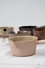 saucepan (kirstievn) Tags: ceramic design objects collection dae porcelain glazed kirstie wellbeing poured desi