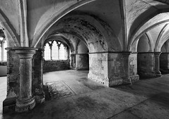 The Crypt (Richard Reader (luciferscage)) Tags: church architecture kent october cathedral religion rochester altar nave christianity crypt medway transcept 2011 rochestercathedral quire roofboss 1410 nikond700 richardreader pillarssanctuary