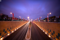 King Abdullah Rd |    (Abdulkreem Al-delaigan | ) Tags: longexposure apple canon photography flickr cityscape riyadh   2011  canonef1635mmf28lusm  leefilters  canon5dmark|| abdulkreemaldelaigan   abdulkreem aldelaigan kingabdullahrd
